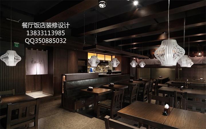 日式餐厅装修项目,为您的日式餐厅设计独特而又充满大和意境的装饰